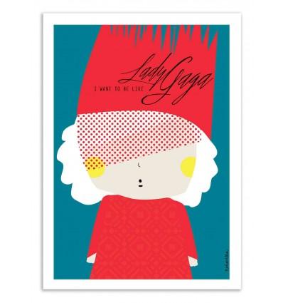 Art-Poster - Lady Gaga - Ninasilla