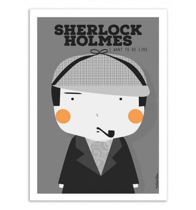 Art-Poster - Sherlock Holmes - Ninasilla