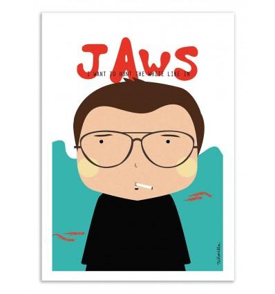 Art-Poster - Jaws - Ninasilla