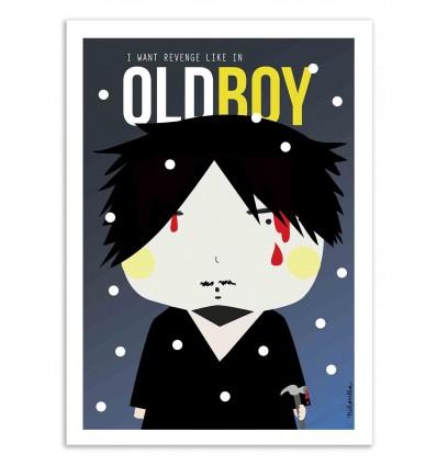 Art-Poster - Oldboy - Ninasilla
