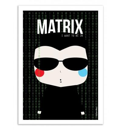 Art-Poster - Matrix - Ninasilla