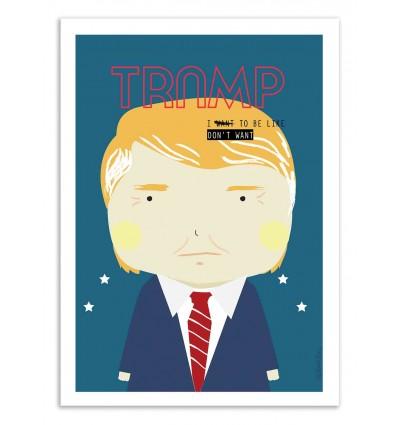 Art-Poster - Trump - Ninasilla