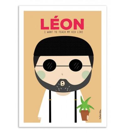 Art-Poster - Leon - Ninasilla