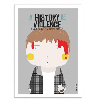 Art-Poster - A history of Violence - Ninasilla