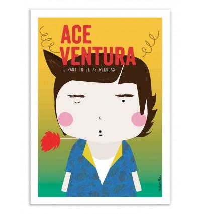 Art-Poster - Ace Ventura - Ninasilla