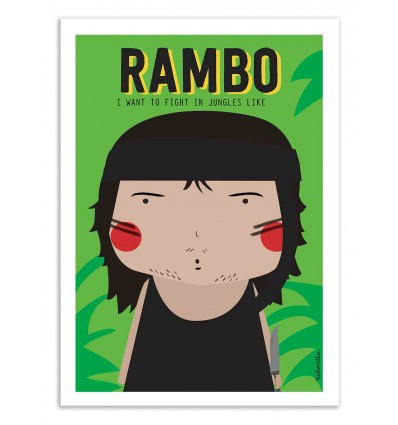 Art-Poster - Rambo - Ninasilla