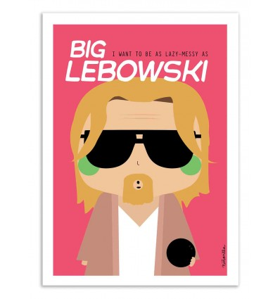 Art-Poster - Big Lebowski  - Ninasilla