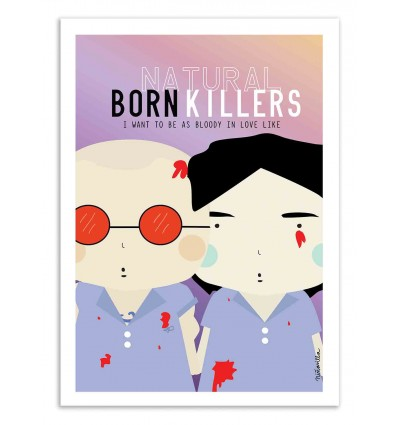 Art-Poster - Natural born Killers   - Ninasilla