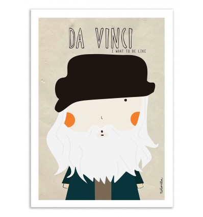 Art-Poster - Da Vinci - Ninasilla