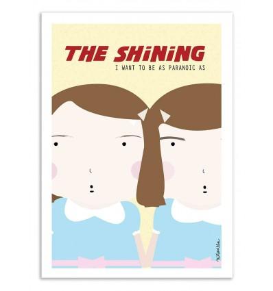Art-Poster - The Shining   - Ninasilla
