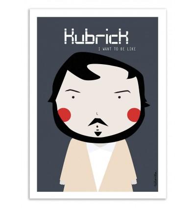 Art-Poster - Kubrick   - Ninasilla
