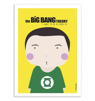 Art-Poster - The Big bang theory  - Ninasilla