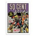 Art-Poster - 50 Cent Comics - David Redon