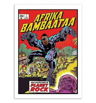 Art-Poster - Afrika Bambaata Comics - David Redon