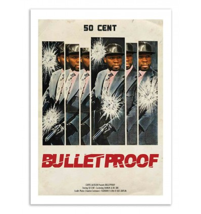 Art-Poster - Bulletproof - David Redon