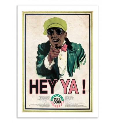 Art-Poster - Hey Ya - David Redon