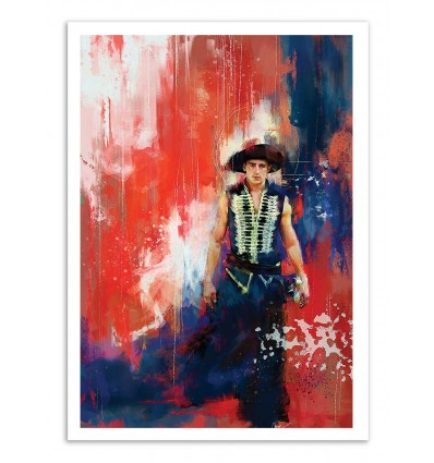 Art-Poster - The Red Bandit - Wisesnail