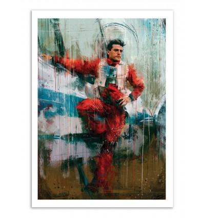 Art-Poster - Poe Darmeron - Wisesnail