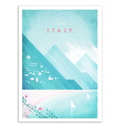Art-Poster - Visit Italy - Henry Rivers