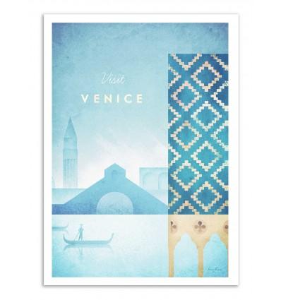 Art-Poster - Visit Venice - Henry Rivers