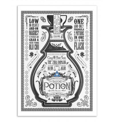 Art-Poster - Blue Potion - Barrett Biggers