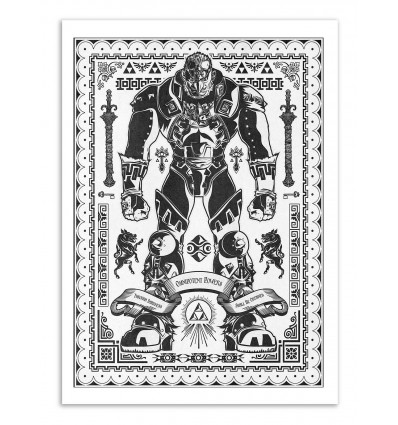 Art-Poster - Ganondorf - Barrett Biggers