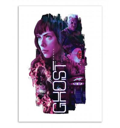 Art-Poster - Ghost in the Shell - Barrett Biggers