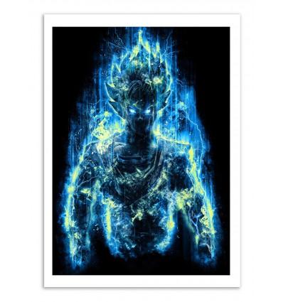 Art-Poster - God Goku - Barrett Biggers