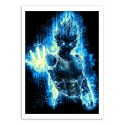 Art-Poster - God Vegeta - Barrett Biggers