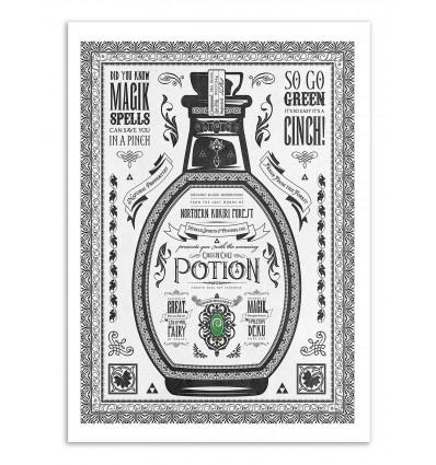 Art-Poster - Green Potion - Barrett Biggers