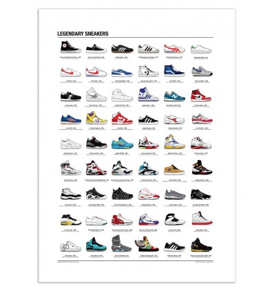 Legendary Sneakers - Olivier Bourdereau