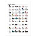 Art-Poster 50 x 70 cm - Legendary Sneakers - Olivier Bourdereau