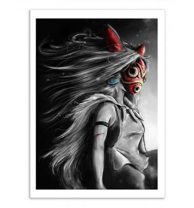 Art-Poster - Mononoke - Barrett Biggers