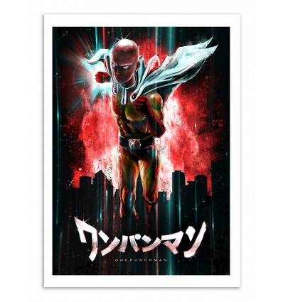 Art-Poster - One punch Man - Barrett Biggers