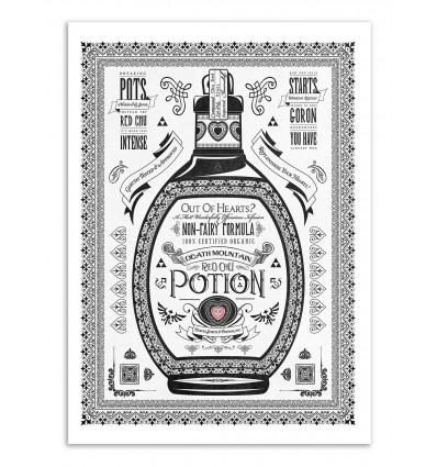 Art-Poster - Red Potion - Barrett Biggers