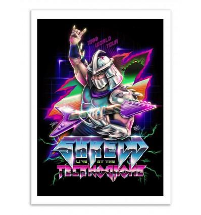 Art-Poster - Shredder - Barrett Biggers