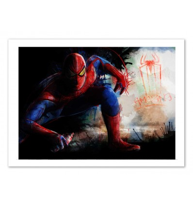 Art-Poster - Spiderman Spray Tag - Barrett Biggers