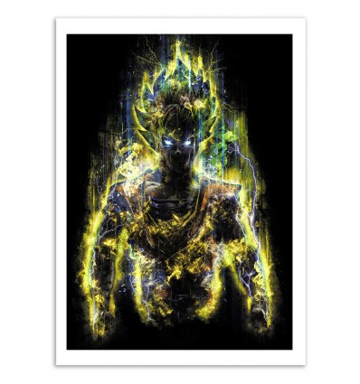 Art-Poster - S S Goku - Barrett Biggers