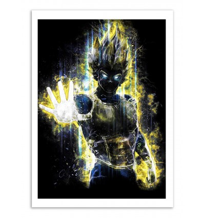 Art-Poster - S S Vegeta - Barrett Biggers