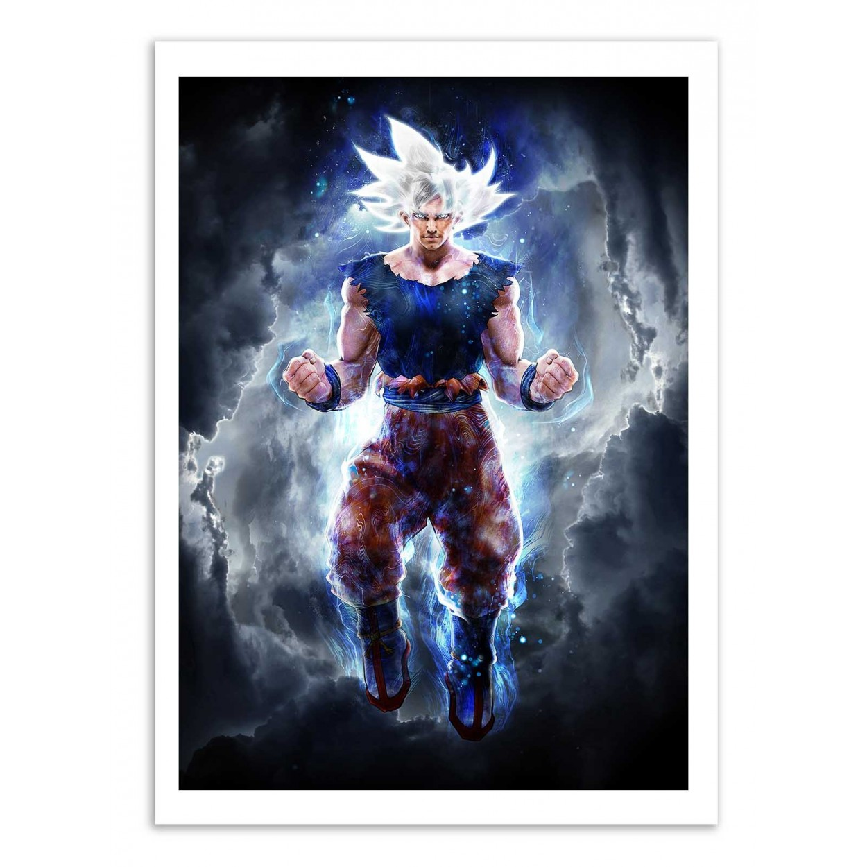 Art Poster Movies And Manga Ultra Instinct Goku By