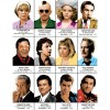 Art-Poster - Martin Scorcese characters - Olivier Bourdereau