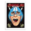 Art-Poster 50 x 70 cm - American Psycho - Butcher Billy