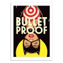 Art-Poster 50 x 70 cm - Bullet Proof- Butcher Billy