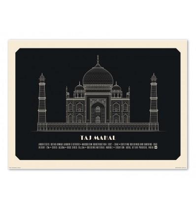 Art-Poster - Taj Mahal Negative - Lionel Darian