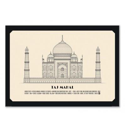 Art-Poster - Taj Mahal - Lionel Darian