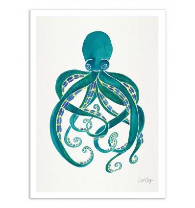 Art-Poster - Octopus - Cat Coquillette