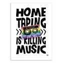 Art-Poster - Home Taping - Rubiant
