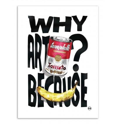 Art-Poster - Pop ART - Rubiant