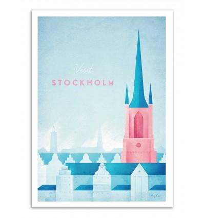 Art-Poster - Visit Stockholm - Henry Rivers