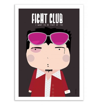 Art-Poster - Fight Club - Ninasilla
